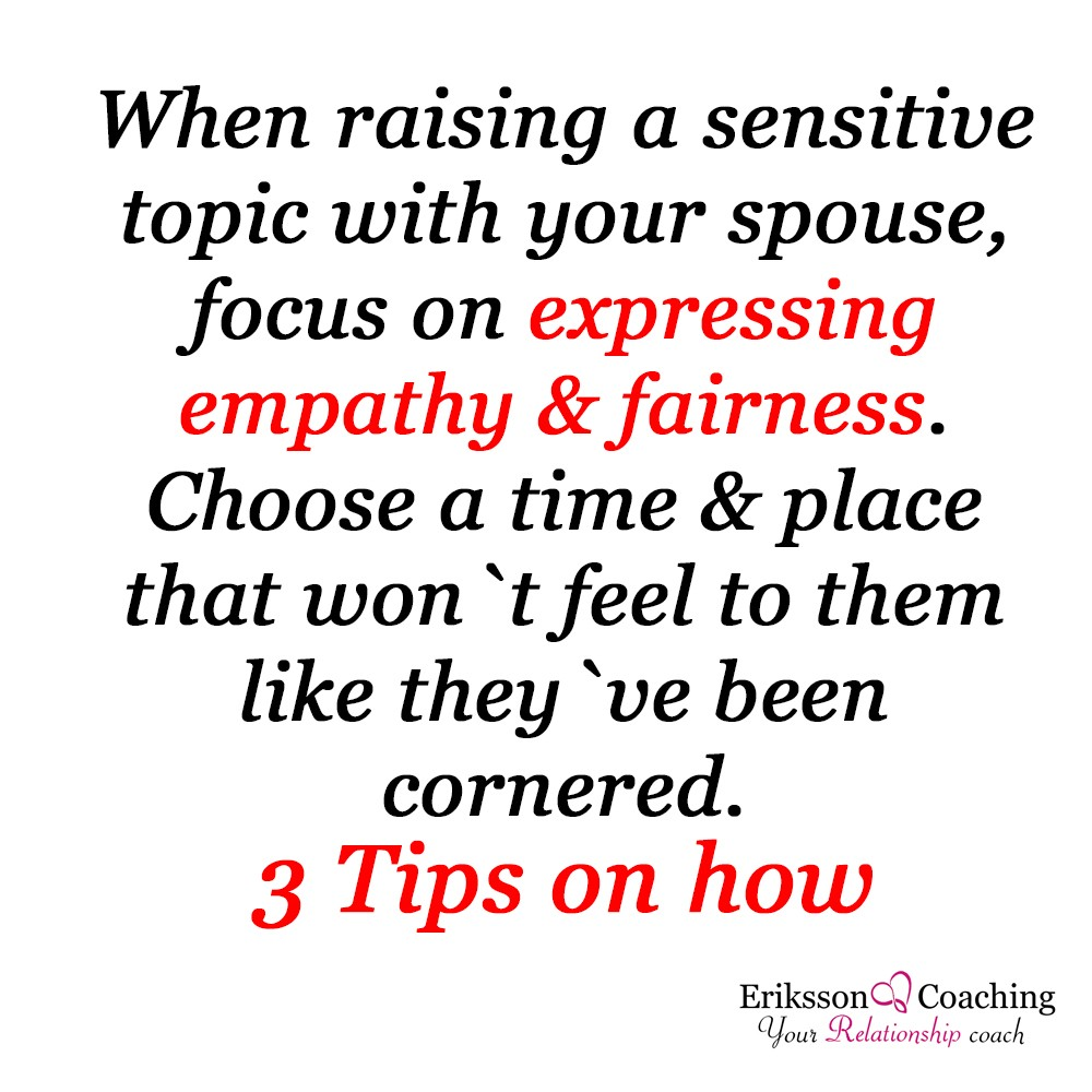 Empathy with your Partner